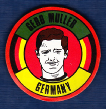 West Germany Gerd Muller Bayern Munich